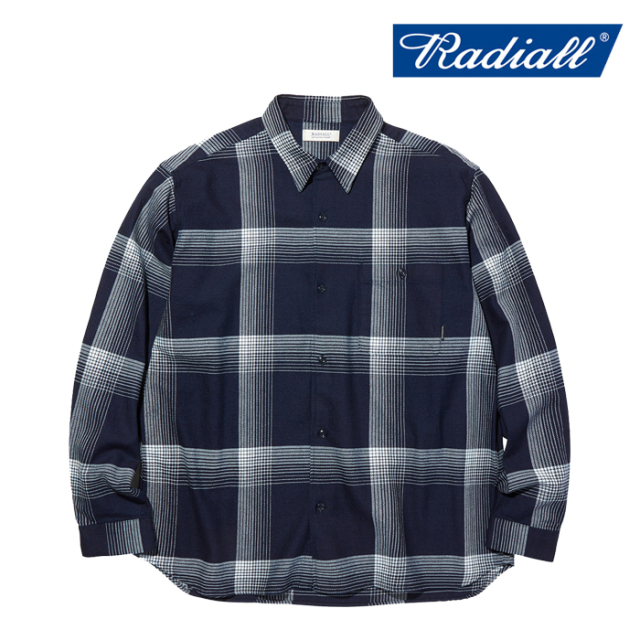 RADIALL(ラディアル) MONTE CALRO - REGULAR COLLARED SHIRT L/S 【ワークシャツ】【2020 AUTUMN&WINTER COLLECTION】【RAD-20AW-S