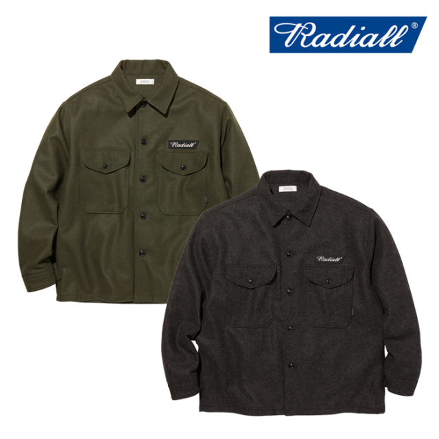 RADIALL(ラディアル) FLAGS - REGULAR COLLARED SHIRT L/S 【CPOシャツ】【2020 AUTUMN&WINTER COLLECTION】【RAD-20AW-SH0011】