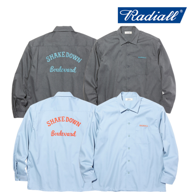 RADIALL(ラディアル) LOWELL - REGULAR COLLARED SHIRT L/S 【ワークシャツ 長袖】【2020 AUTUMN&WINTER COLLECTION】【RAD-20AW-S