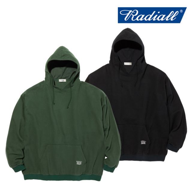 RADIALL(ラディアル) SYNDICATE - PULLOVER HOODED SHIRT L/S 【フードシャツ】【2020 AUTUMN&WINTER COLLECTION】【RAD-20AW-SH01