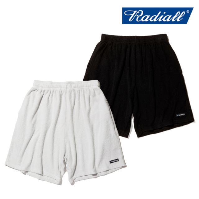 RADIALL(ラディアル) BAJA - EASY SHORTS 【パイル ショートパンツ 短パン】【2020 SPRING&SUMMER COLLECTION】【RAD-20SS-CUT007