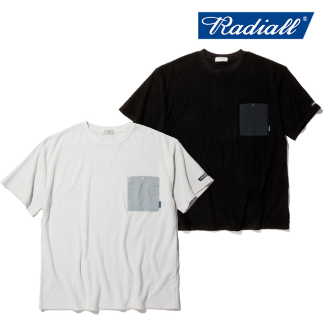 RADIALL(ラディアル) BAJA - CREW NECK POCKET T-SHIRT S/S 【パイル Tシャツ 半袖】【2020 SPRING&SUMMER COLLECTION】【RAD-20SS