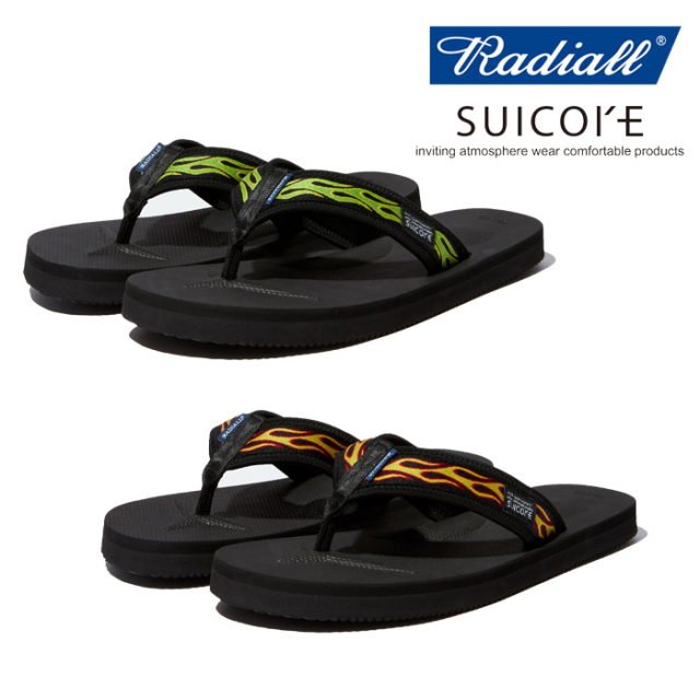 RADIALL(ラディアル) CHIAPAS-TONO-V2 SANDALS 【2020 SPRING&SUMMER COLLECTION】 【RAD-20SS-JW001】【サンダル】【SUICOKE ス