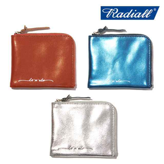 【SALE30%OFF】  RADIALL (ラディアル)  CANDY - ZIP SQUARE WALLET  【ウォレット 財布】【2021 SPRING&SUMMER COLLECTION】【RA