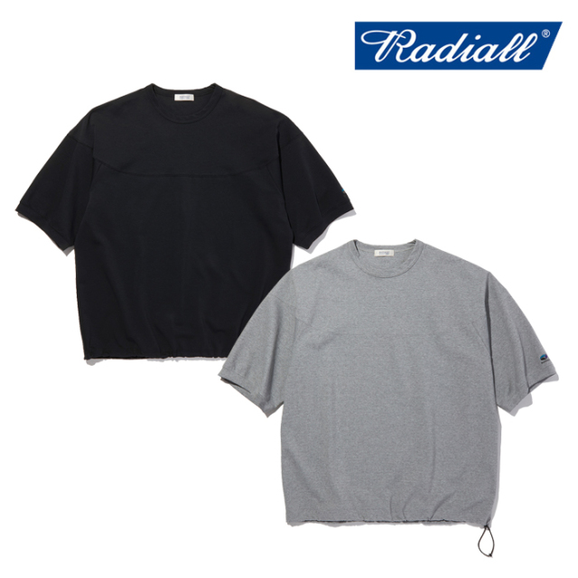RADIALL(ラディアル) ELEMENT - CREW NECK T-SHIRT 3Q SLEEVE 【Tシャツ 7分袖】【2021 SPRING&SUMMER COLLECTION】【RAD-21SS-CUT
