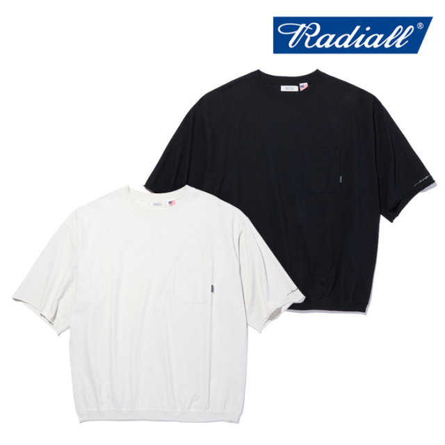 RADIALL(ラディアル) FLEETLINE - CREW NECK T-SHIRT S/S 【Tシャツ 半袖】【2021 SPRING&SUMMER COLLECTION】【RAD-21SS-CUT011】