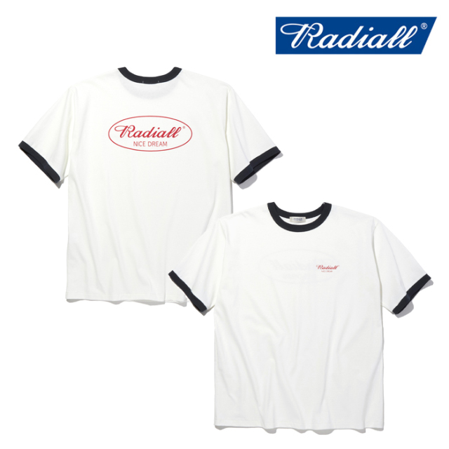 RADIALL(ラディアル) OVAL - CREW NECK T-SHIRT S/S 【Tシャツ 半袖】【2021 SPRING&SUMMER COLLECTION】【RAD-21SS-CUT015】