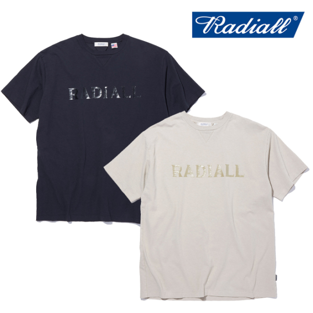 RADIALL(ラディアル) LOGOTYPE - CREW NECK T-SHIRT S/S 【Tシャツ 半袖】【2021 SPRING&SUMMER COLLECTION】【RAD-21SS-CUT016】