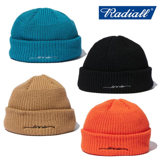 RADIALL (ラディアル)  C-10 - WATCH CAP  【ワッチキャップ ニットキャップ ニット帽】【2021 SPRING&SUMMER COLLECTION】【RAD-2
