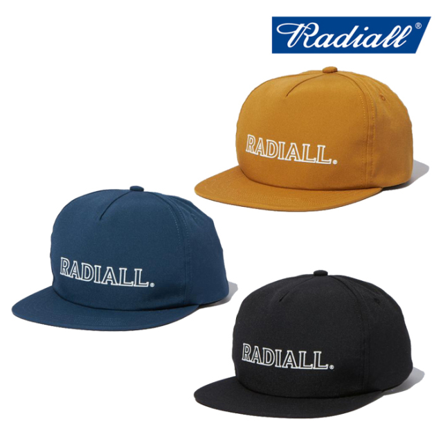 RADIALL(ラディアル) OUTLINE - TRUCKER CAP 【トラッカーキャップ 帽子】【2021 SPRING&SUMMER COLLECTION】【RAD-21SS-HAT005】