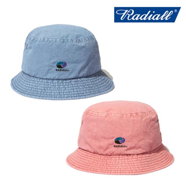 RADIALL (ラディアル)  YOSEMITE - BUCKET HAT  【バケットハット 帽子】【2021 SPRING&SUMMER COLLECTION】【RAD-21SS-HAT008】【