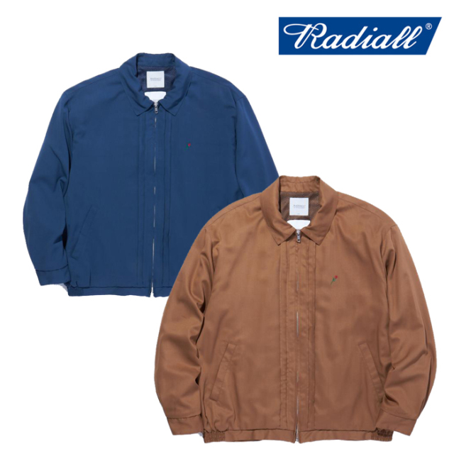 RADIALL(ラディアル) TOWN CAR - ZIP UP BLOUSON 【ジップブルゾン】【2021 SPRING&SUMMER COLLECTION】【RAD-21SS-JK002】
