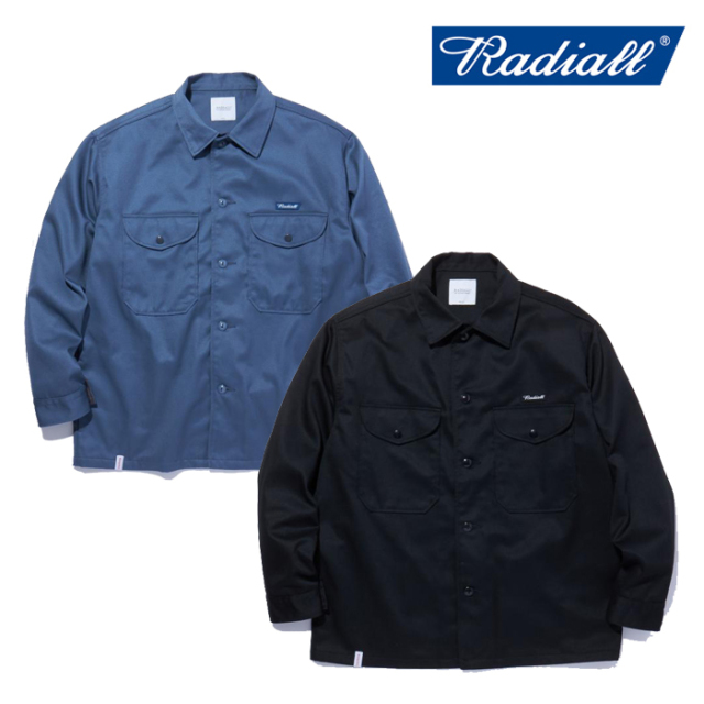 RADIALL(ラディアル) CONQUISTA - WORK JACKET 【ワークジャケット】【2021 SPRING&SUMMER COLLECTION】【RAD-21SS-JK003】