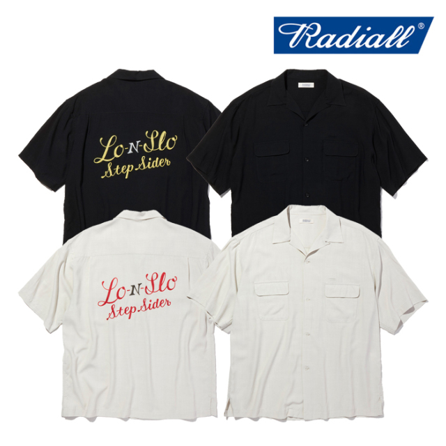 RADIALL(ラディアル) STEP SIDE - OPEN COLLARED SHIRT S/S 【オープンシャツ 半袖】【2021 SPRING&SUMMER COLLECTION】【RAD-21SS
