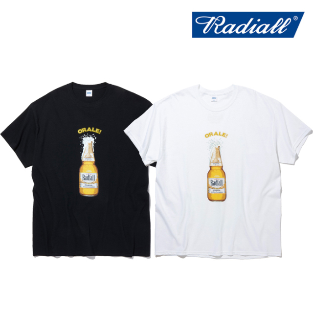 RADIALL(ラディアル) ORALE - CREW NECK T-SHIRT S/S 【Tシャツ 半袖】【2021 SPRING&SUMMER COLLECTION】【RAD-21SS-TEE006】