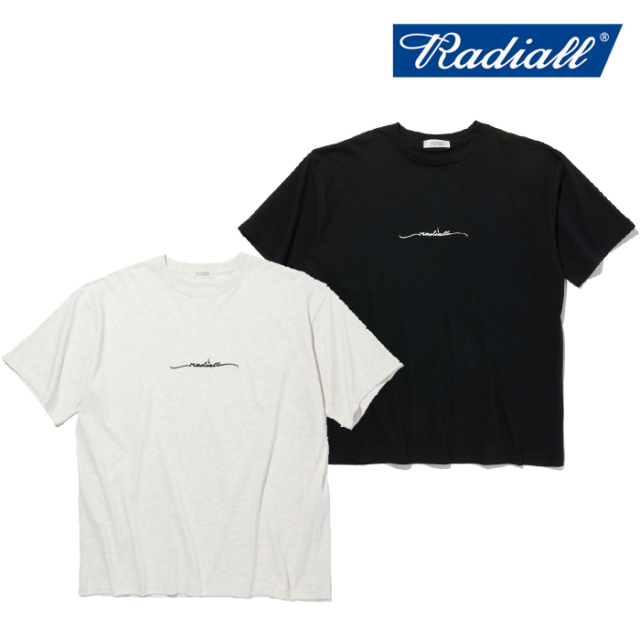 RADIALL(ラディアル) LO-N-SLO - CREW NECK T-SHIRT S/S 【Tシャツ 半袖】【2021 SPRING&SUMMER COLLECTION】【RAD-21SS-TEE011】