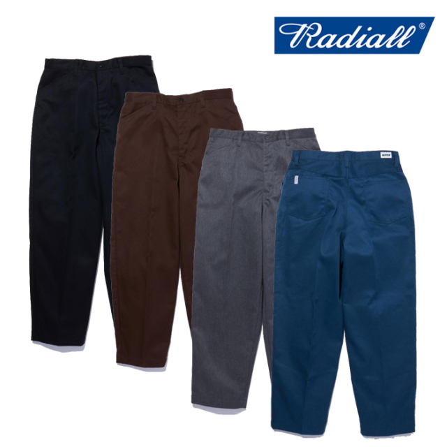RADIALL(ラディアル) CONQUISTA - WIDE TAPERED FIT PANTS 【ワークパンツ】【2021 SPRING&SUMMER COLLECTION】【RAD-CNQ-PT001】