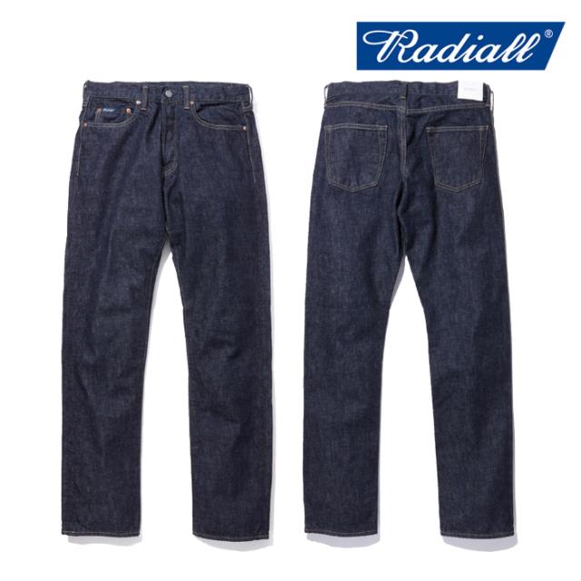 RADIALL(ラディアル) KUSTOM 235B SLIM FIT PANTS 【送料無料】【即発送可能】 【RAD-DNM-PT001】【デニム ジーンズ パンツ】