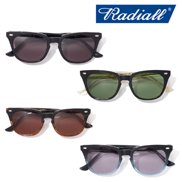 RADIALL(ラディアル) FIFTY NINE SUNGLASSES 【2018 SPRING&SUMMER新作】 【RADIALL サングラス】 【RAD-GLS002】