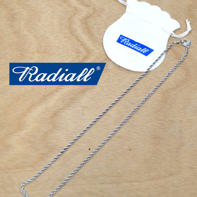 再入荷!! RADIALL(ラディアル) TWIST - NECKLACE/NARROW 【2018 AUTUMN & WINTER COLLECTION】 【RAD-JWL019】