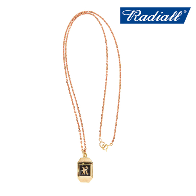 RADIALL (ラディアル)  SYMBOLIZE - NECKLACE(BRASS)  【ネックレス ブラス】【2020 AUTUMN&WINTER COLLECTION】【RAD-JWL023-02】