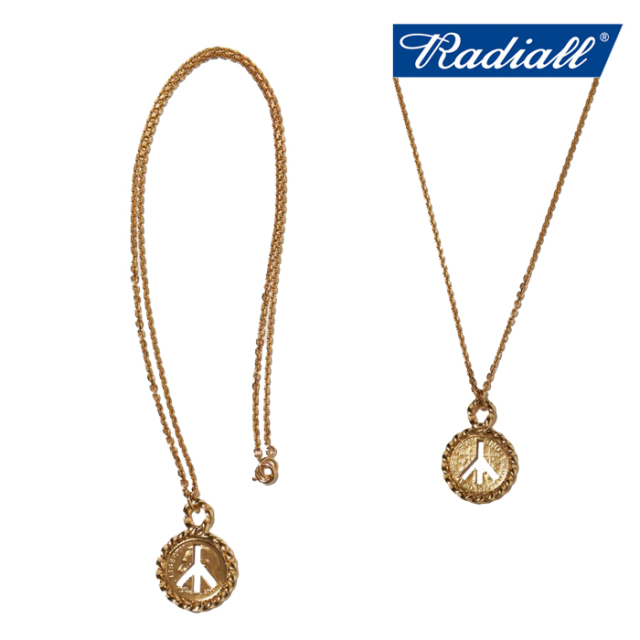 RADIALL(ラディアル) TWIST - NECKLACE(18K) 【ネックレス ゴールド】【2021 SPRING&SUMMER COLLECTION】【RAD-JWL026-02】