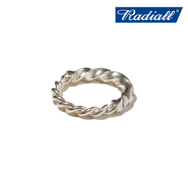 RADIALL(ラディアル) TWIST - PINKY RING 【ピンキーリング シルバー】【2021 SPRING&SUMMER COLLECTION】【RAD-JWL028-01】