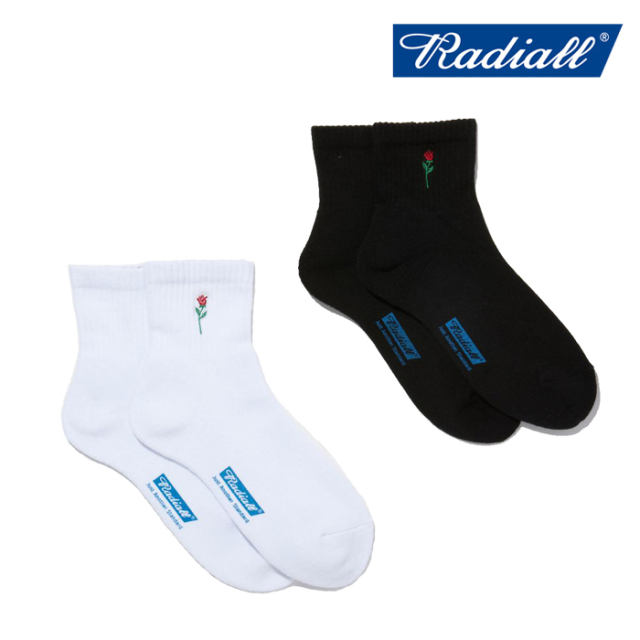 RADIALL(ラディアル) ROSE - 2PAC SOX SHORT 【ミドルソックス 靴下】【2021 SPRING&SUMMER COLLECTION】【RAD-PAC040】