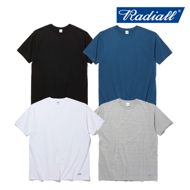 RADIALL(ラディアル) BASIC - CREW NECK T-SHIRT S/S 【Tシャツ 半袖 ベーシック】【2021 SPRING&SUMMER COLLECTION】【RAD-PAC041