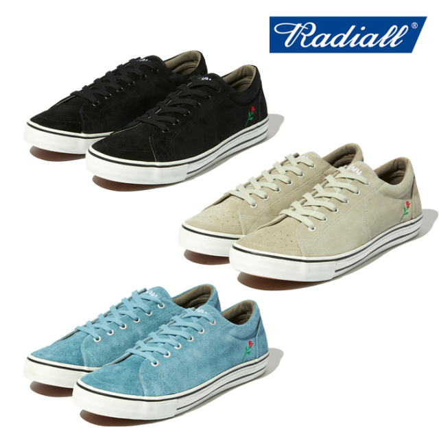 RADIALL(ラディアル) CONQUISTA - LOW TOP SNEAKER 【スニーカー】【POSSESSED SHOE ポゼストシューズ】【2021 SPRING&SUMMER COLL