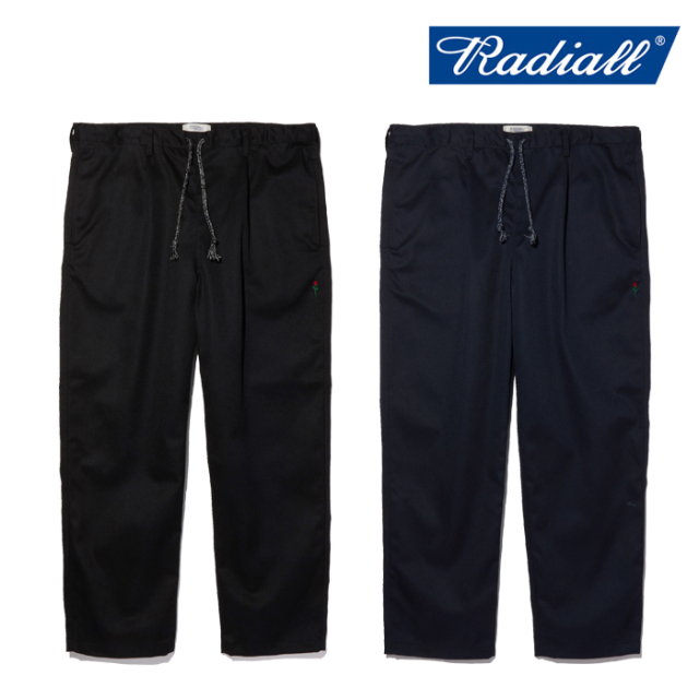 RADIALL(ラディアル) CONQUISTA - WIDE FIT EASY PANTS 【イージーパンツ】【POSSESSED SHOE ポゼストシューズ】【2020 AUTUMN&WIN