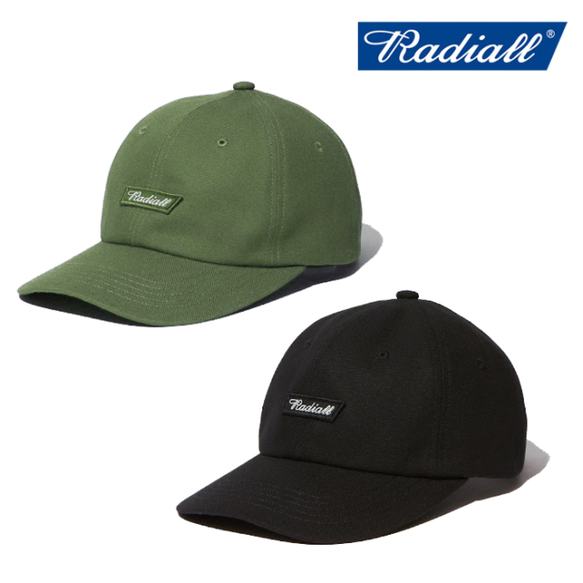 RADIALL(ラディアル) FLAGS - BASEBALL LOW CAP 【ローキャップ】【2020 AUTUMN&WINTER SPOT】【RAD-20AW-SPOT-HAT008】