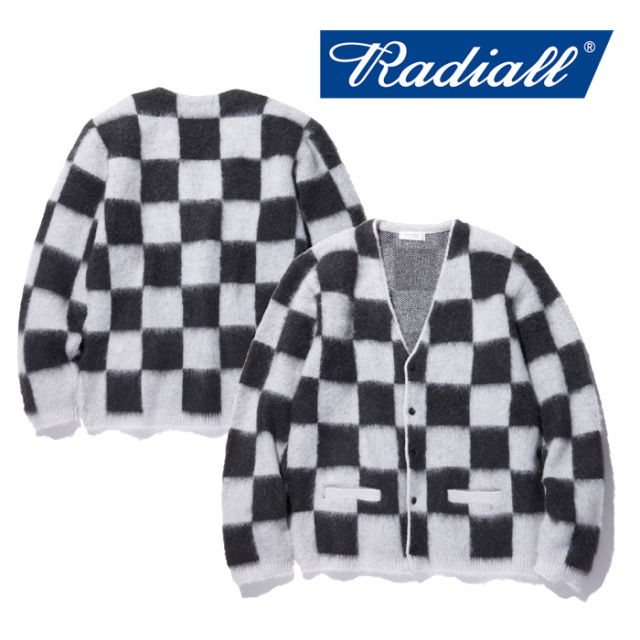 RADIALL(ラディアル) TEN SECONDS -CARDIGAN SWEATER L/S 【2018 AUTUMN & WINTER COLLECTION】 【RAD-18AW-KNIT001】