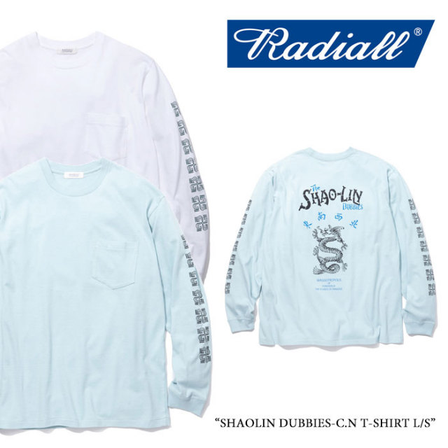 【SALE】 RADIALL(ラディアル) SHAOLIN DUBBIES-C.N T-SHIRT L/S 【2018 SPRING&SUMMER新作】【RAD-18SS-CUT030】