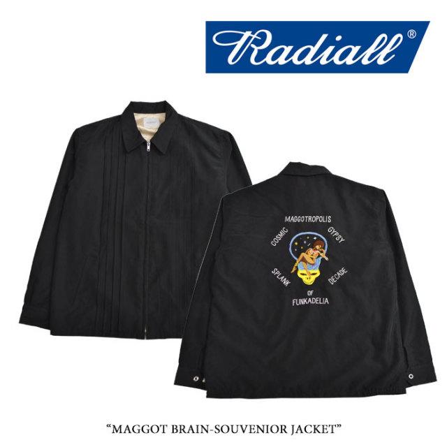 RADIALL(ラディアル) MAGGOT BRAIN-SOUVENIOR JACKET 【2018 SPRING&SUMMER新作】 【送料無料】【即発送可能】 【RADIALL アウタ