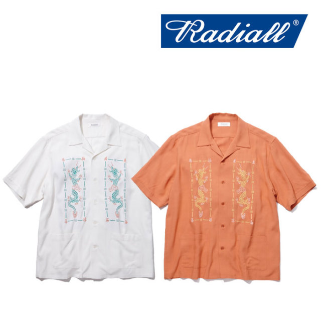 【SALE】 RADIALL(ラディアル) SHAOLING DUBBIES - OPEN COLLARED SHIRT S/S 【2018 SPRING&SUMMER新作】 【RADIALL シャツ】
