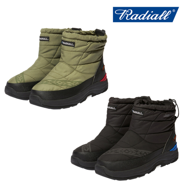 RADIALL(ラディアル) LAPAZ - BOWER PADDED BOOTS 【パデットブーツ】【SUICOKE スイコック】【THINSULATE】【2020 AUTUMN&WINTER