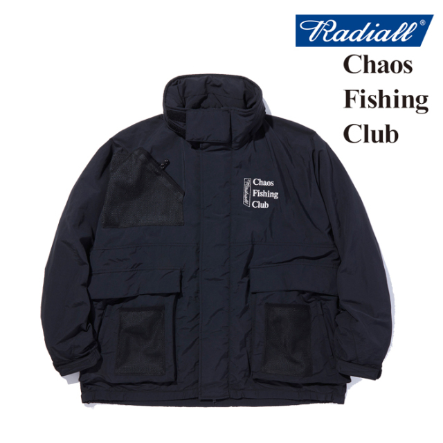 RADIALL(ラディアル) GAMBLING HOURS - WINDBREAKER JACKET 【ウィンドブレーカー】【CHAOS FISHING CLUB コラボレーション】【RAD