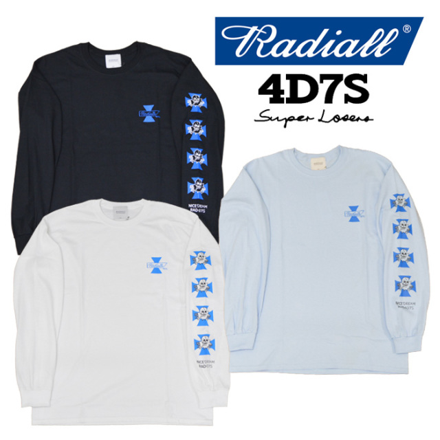 【SALE20%OFF】 RADIALL(ラディアル) 4D7S-CREW NECK T-SHIRT L/S 【2018 AUTUMN & WINTER SPOT COLLECTION】 【RAD-18AW-SPOT-J