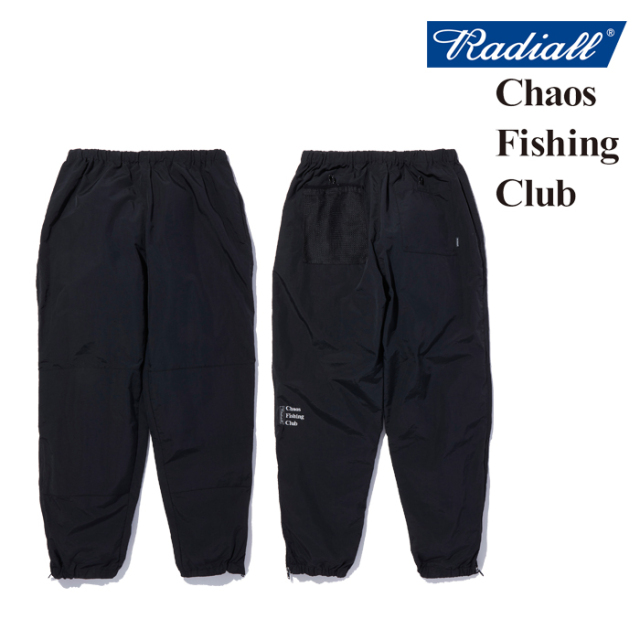 RADIALL(ラディアル) GAMBLING HOURS - TRACK PANTS 【トラックパンツ】【CHAOS FISHING CLUB コラボレーション】【RAD-20AW-SPOT-