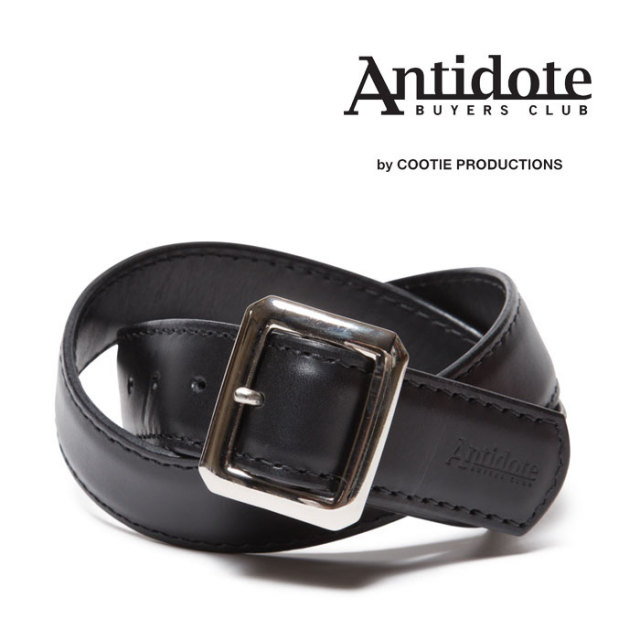 ANTIDOTE BUYERS CLUB(アンチドートバイヤーズクラブ) Garrison Leather Belt 【RX-01-104】