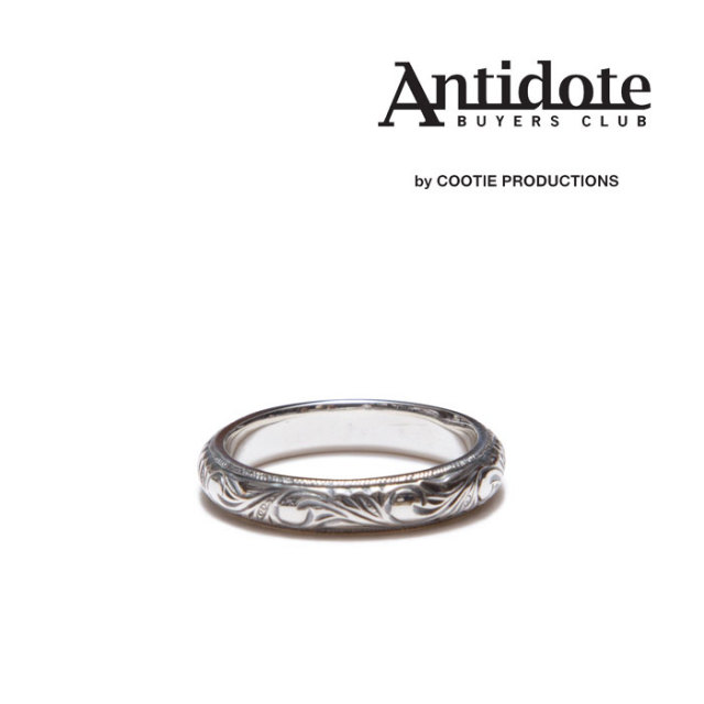 ANTIDOTE BUYERS CLUB(アンチドートバイヤーズクラブ) Engraved Pinky Ring 【RX-01-704】