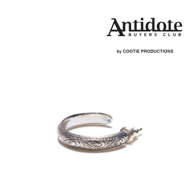 ANTIDOTE BUYERS CLUB(アンチドートバイヤーズクラブ) Compadre Hoop Earring 【RX-01-801】