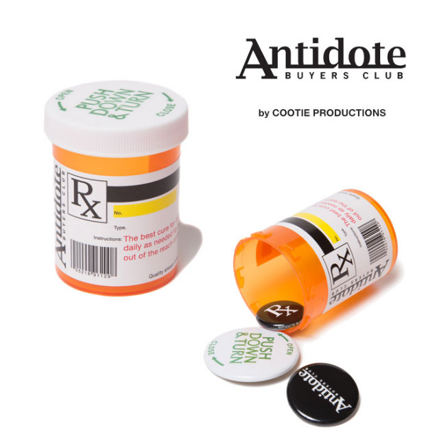 ANTIDOTE BUYERS CLUB(アンチドートバイヤーズクラブ) Button Badge Set 【RX-02-17A503】