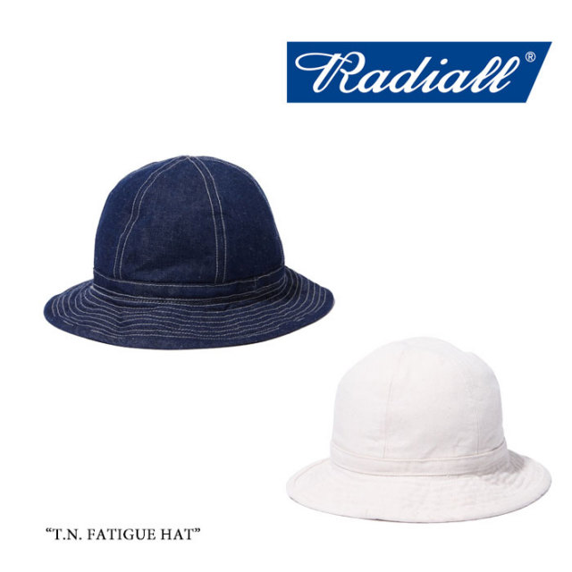 RADIALL(ラディアル) T.N. FATIGUE HAT 【2018 SPRING&SUMMER新作】 【即発送可能】 【RADIALL ハット】 【TN-18SS-HAT002】