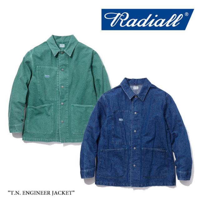 【SALE】 RADIALL(ラディアル) T.N. ENGINEER JACKET 【2018 SPRING&SUMMER新作】 【送料無料】【即発送可能】 【RADIALL アウ