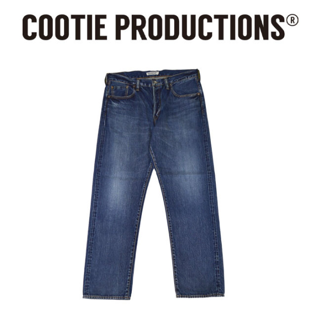 COOTIE(クーティー) 5 Pocket Loose Fit Denim 【CTE-18S104】