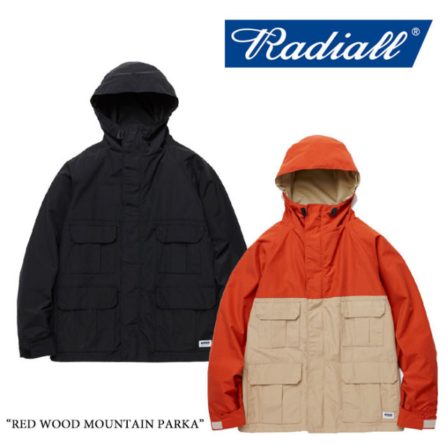 【SALE30%OFF】 RADIALL(ラディアル) RED WOOD MOUNTAIN PARKA 【2017AUTUMN/WINTER新作】 【送料無料】【即発送可能】 【RADIA