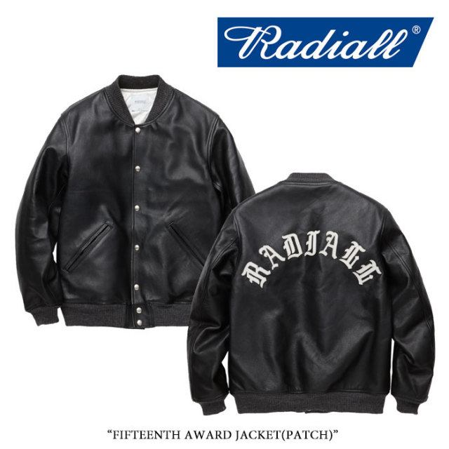 【SALE30%OFF】 RADIALL(ラディアル) FIFTEENTH AWARD JACKET(PATCH) 【2017AUTUMN/WINTER新作】 【送料無料】【即発送可能】