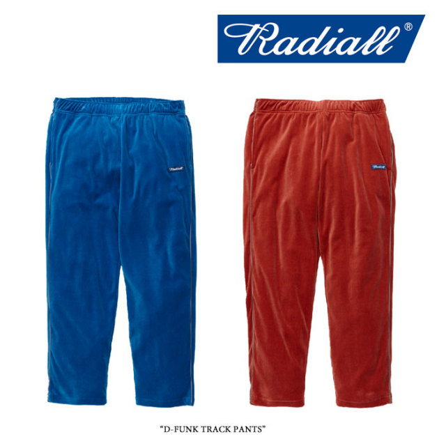 【SALE】 RADIALL(ラディアル) D-FUNK TRACK PANTS 【2017AUTUMN/WINTER新作】【RAD-17AW-CUT013】